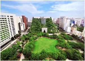 ACROS Fukuoka, Japan
