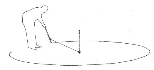 crtanje kruga pomoću kanapa